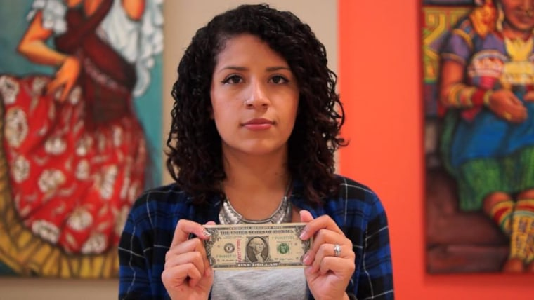 Marisol Soto, 21, created a campaign to showcase how much money undocumented immigrants are contributing to the U.S. economy.