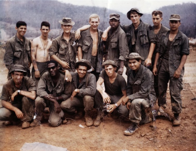 Soldiers in Vietnam.