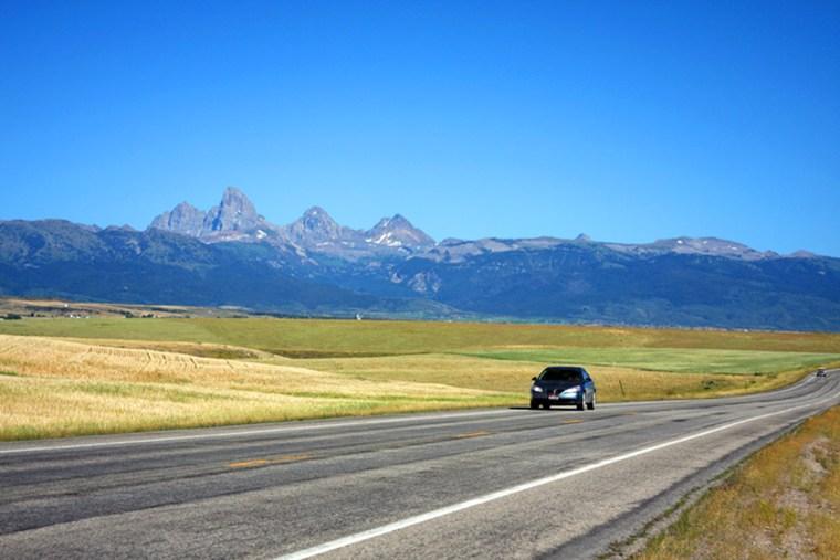 Image: Teton Scenic Byway in Idaho