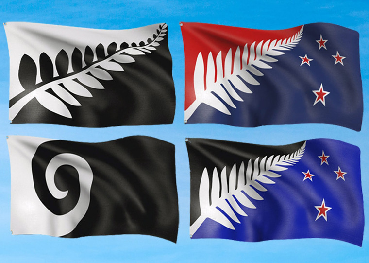 Image: Four designs in final round of flag contest