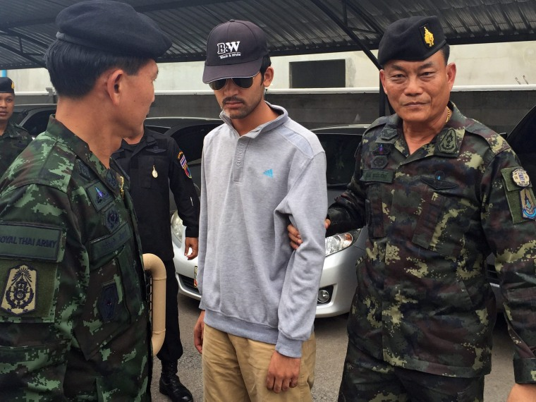 Image: Chief suspect in Bangkok bombing case arrested