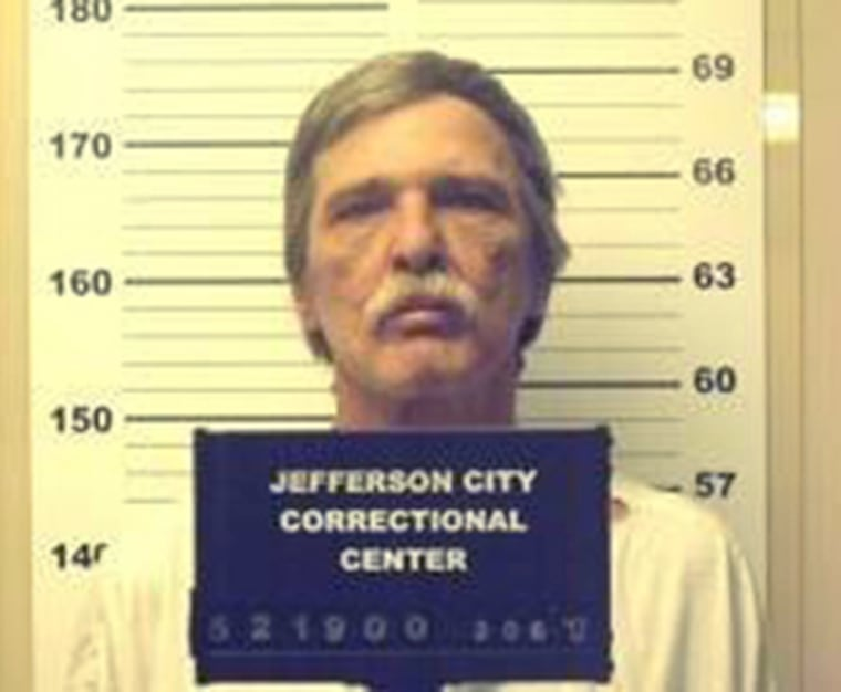 This undated photo provided by the Jefferson City Correctional Center shows Jeff Mizanskey.