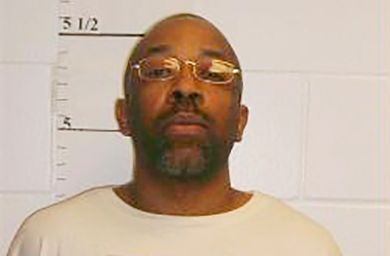 Image: Missouri death row inmate Roderick Nunley is seen in a picture released by the Missouri Department of Corrections