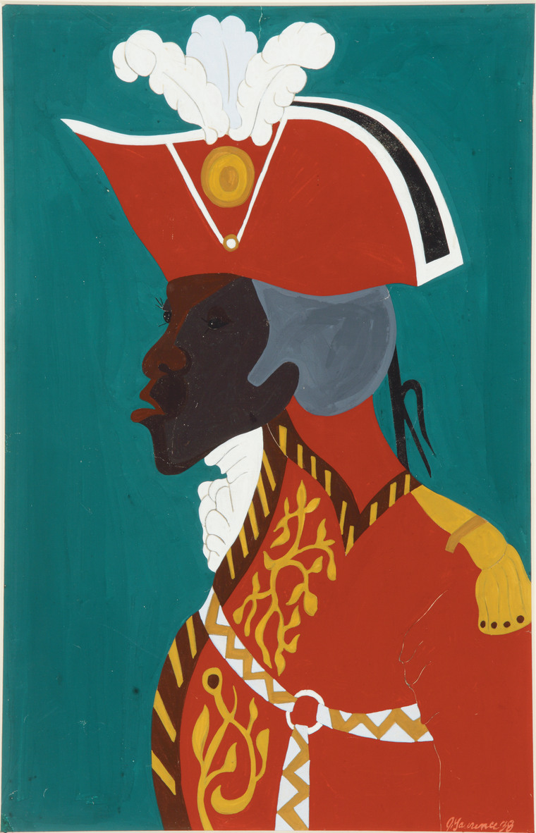 """The title alone is remarkable and says it all. It makes us ask has anything really changed? When you compare Toussaint L'Ouverture—a leader of the Haitian revolution—and President Obama, you see the challenges of a person of color in a leadership position. You see what they have to deal with in terms of being hated by many. It is a timeless critique of what people of color face."" -- Kara Tucina Olidge"