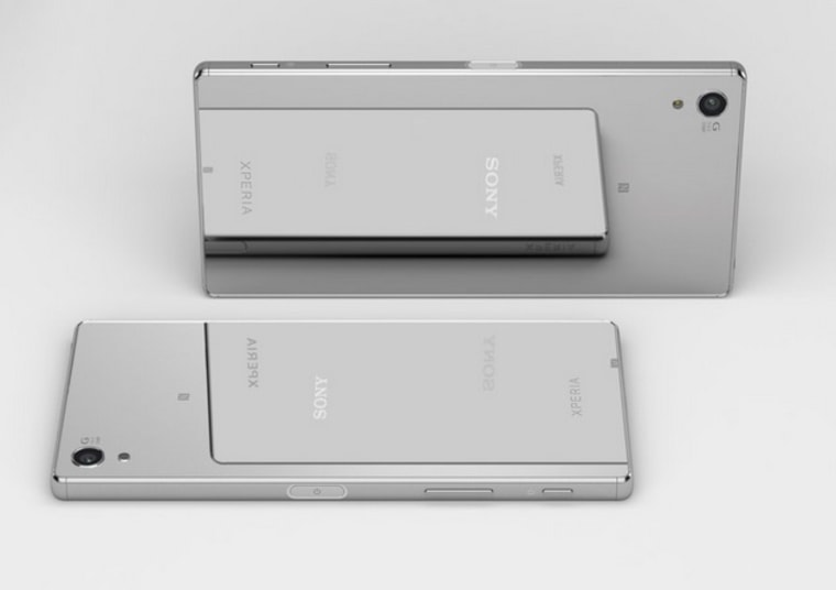 The Z5 Premium comes in shiny chrome. Good luck keeping that smudge-free, though.