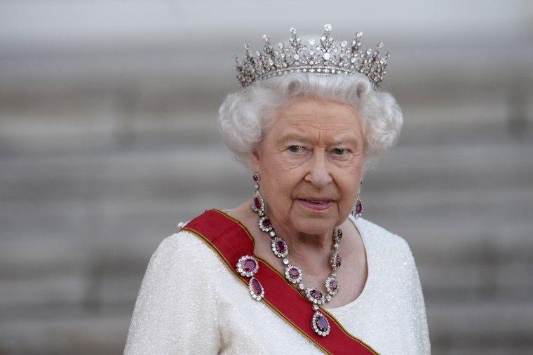 Image: Britain's Queen Elizabeth II