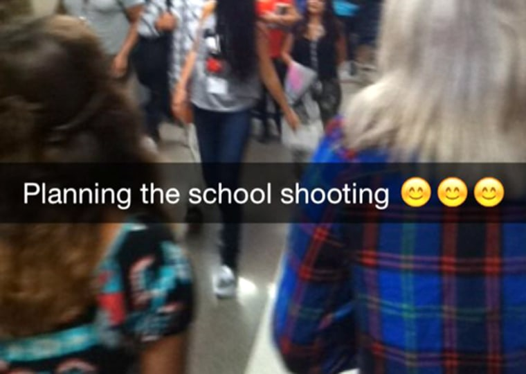 Image: Snapchat alerts CO student to apparent threat against AZ school
