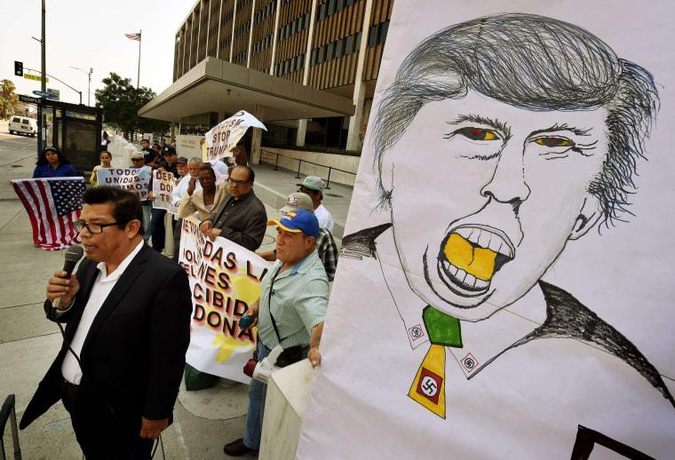Image: US-VOTE-TRUMP-PROTEST