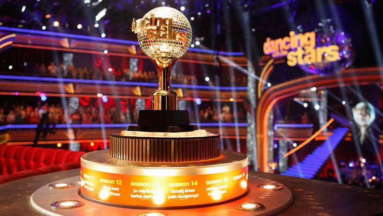 Dancing with the stars mirror ball trophy