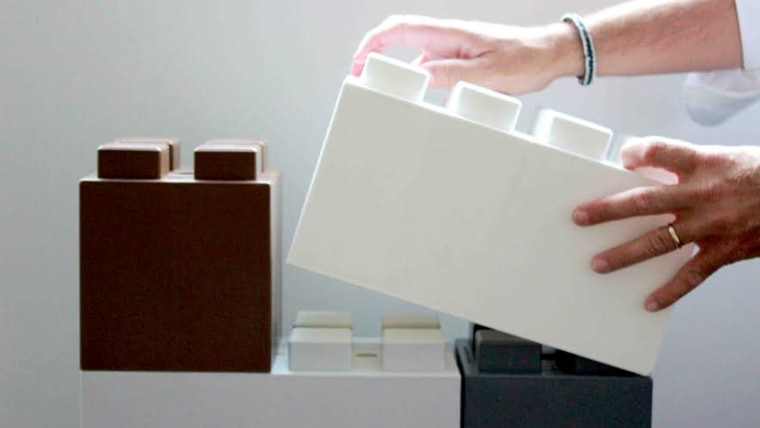 EverBlock™ is a Life-Sized Modular Building Block That Allows You To Build Nearly Anything
