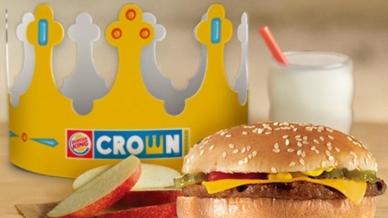 Burger King kids' meal