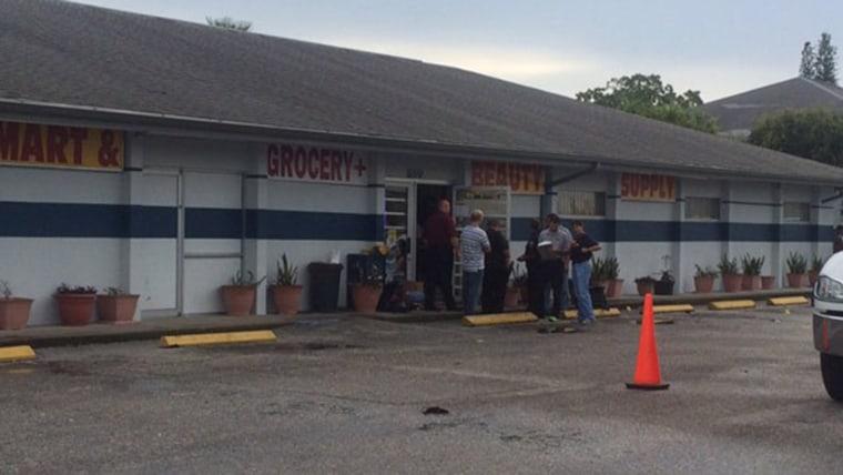 Image: Crime scene in Palmetto, Florida