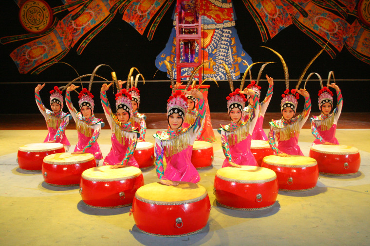 The acrobats of the New Shanghai Circus have found their performance home in Branson, Missouri - population 11,000.