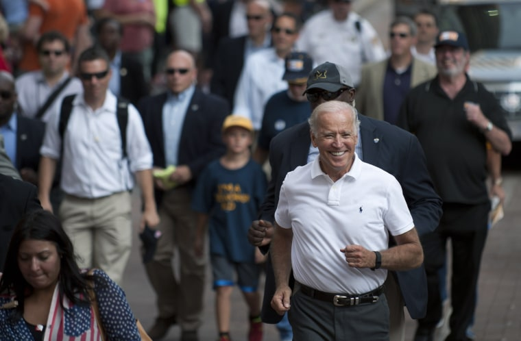 Image: Joe Biden attends Allegheny County Labor Day Parade