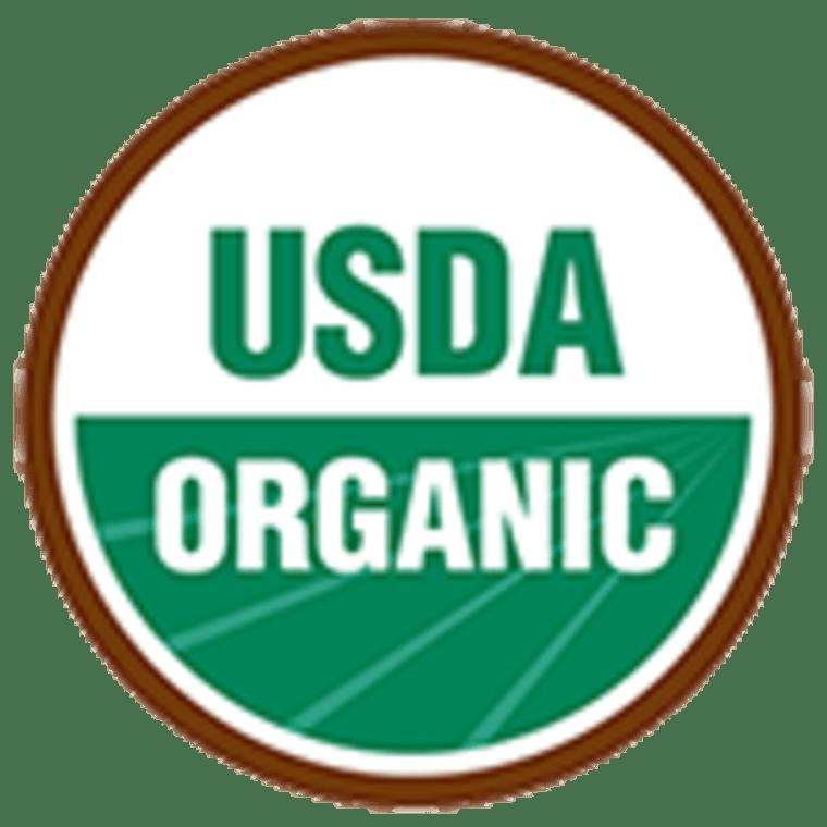 The USDA organic label means no GMOs.