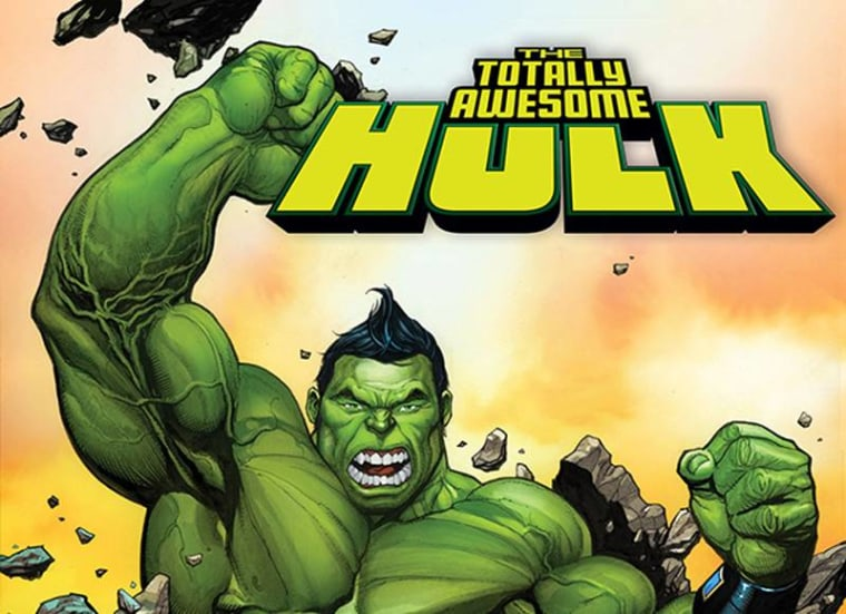 Marvel Comics' new Hulk is Korean-American teenager Amadeus Cho.