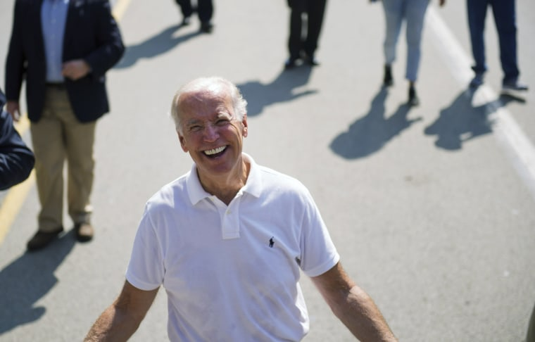 Image: Joe Biden attends Allegheny County Labor Day Parade