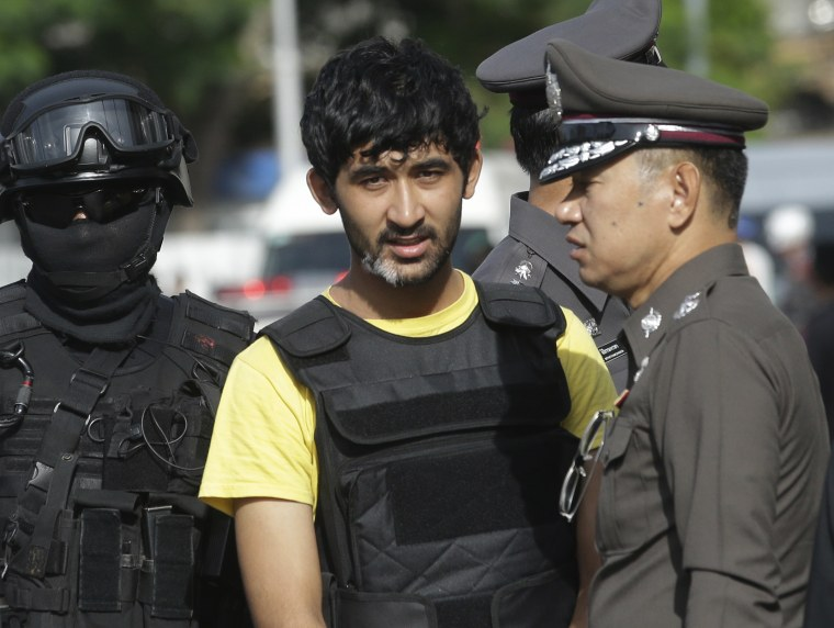 IMAGE: Bangkok bombing suspect