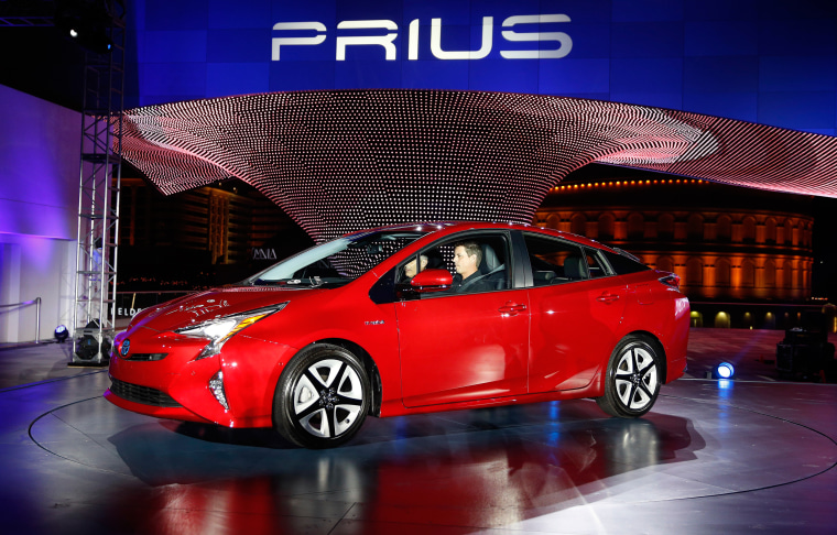 Image: The newly unveiled Toyota Prius