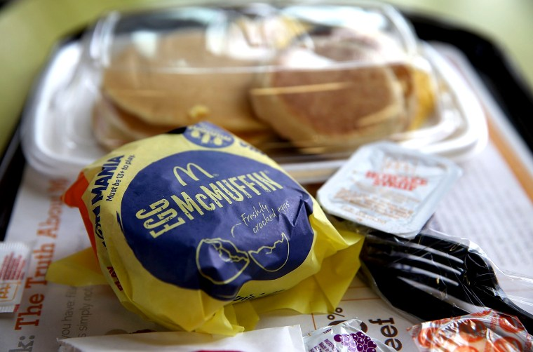 Image: McDonalds meals