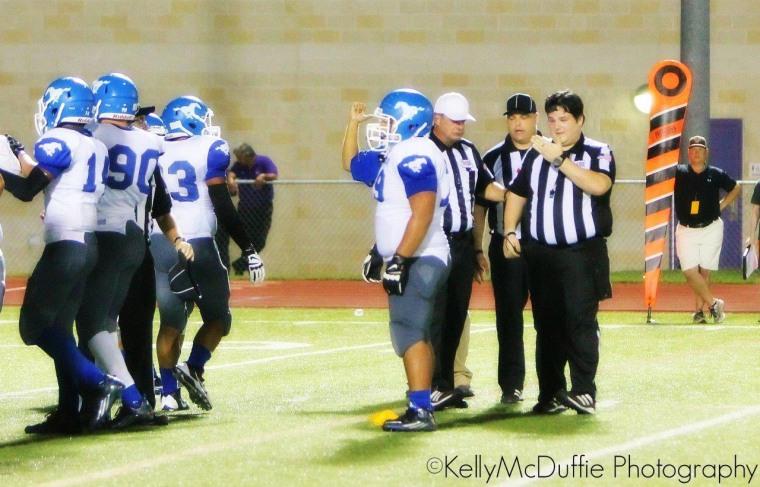 Referee Robert Watts