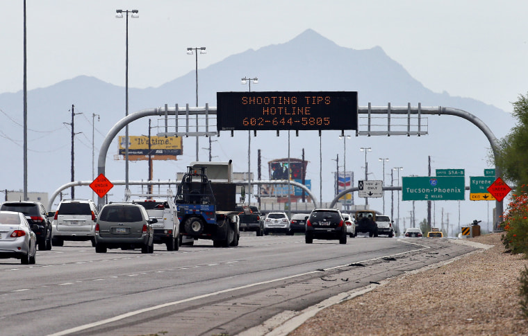 IMAGE: Phoenix freeway shootings