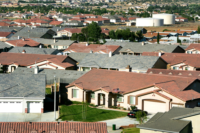 Image: housing development in California
