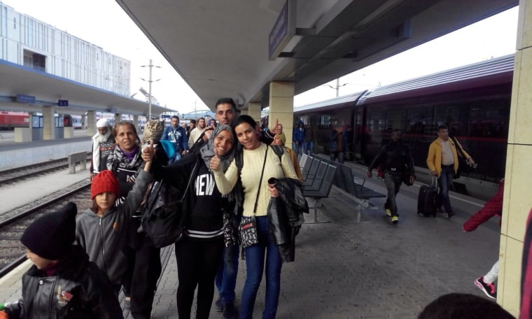 Image: Arrival in Vienna