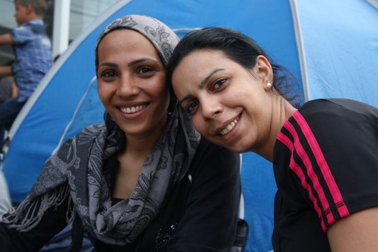 Image: Salma and Nour