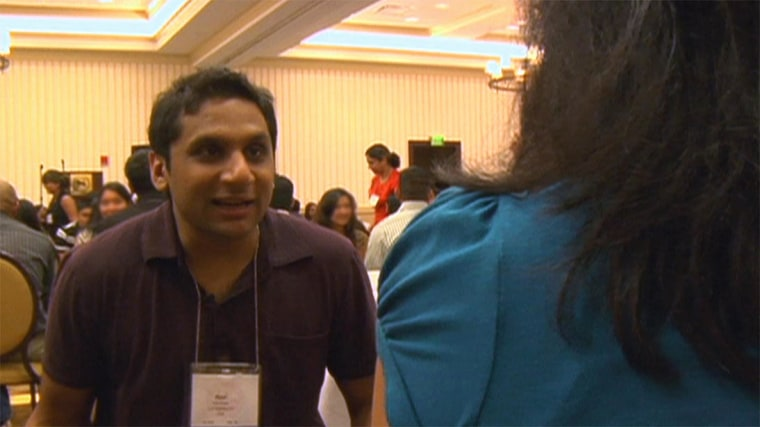 Along the journey toward an arranged marriage, Ravi Patel attended speed dating events.