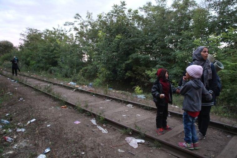 Image: Salma, Mohammad and Jana