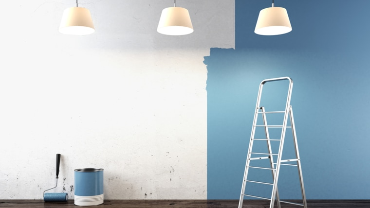 Paint colors can make you relaxed