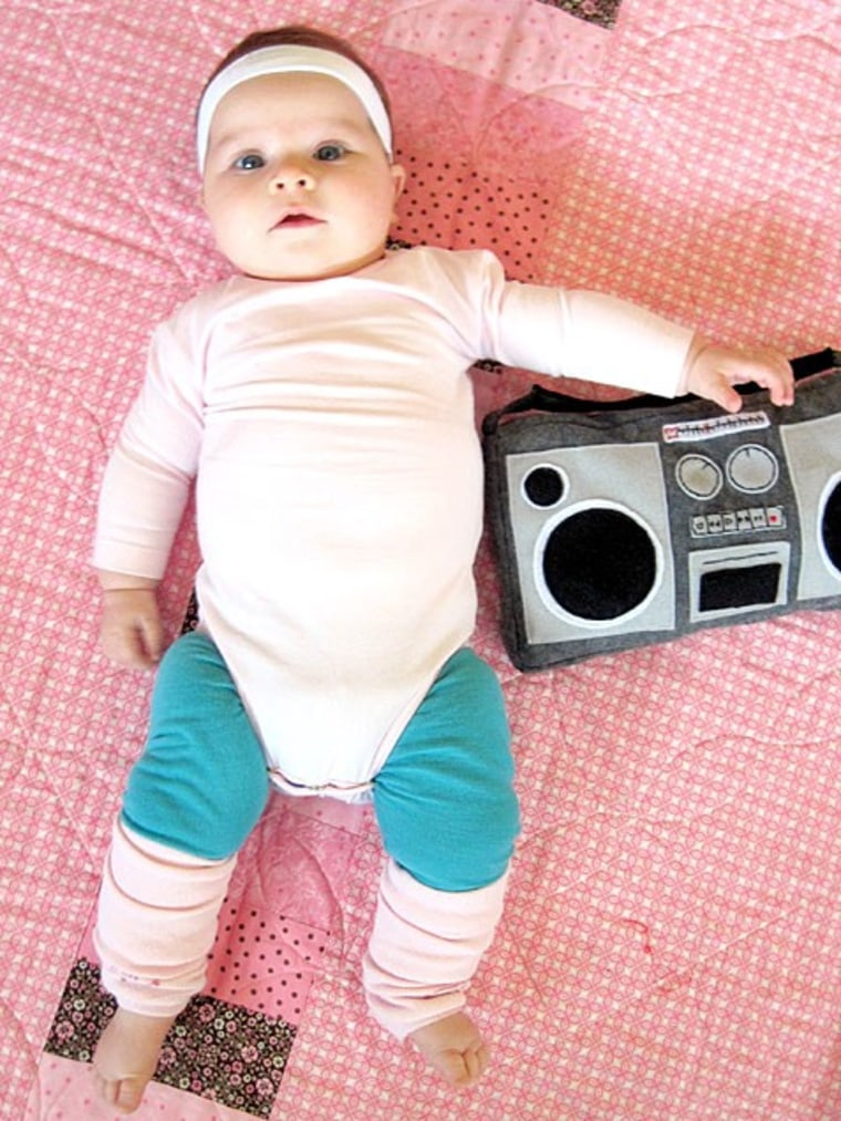 Easy baby Halloween costume