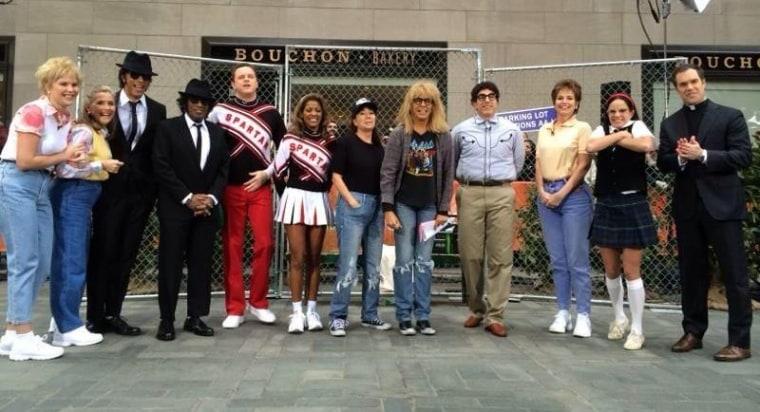 Today Halloween costumes Saturday Night Live