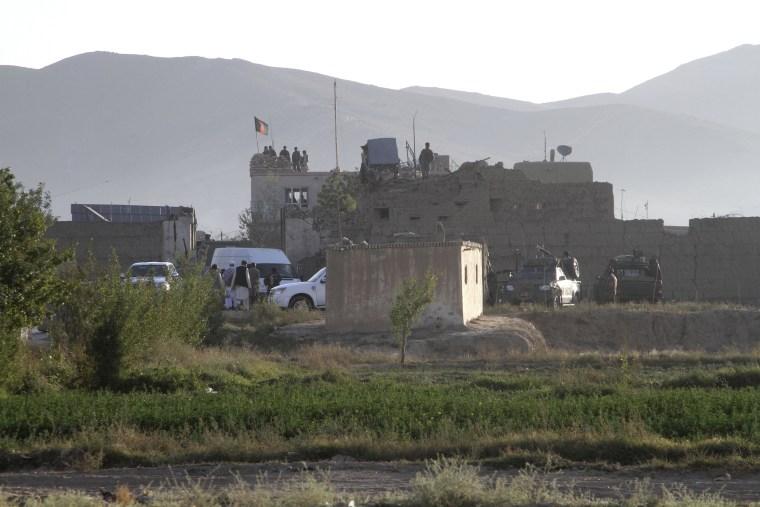 Image: Afghan prison in Ghazni