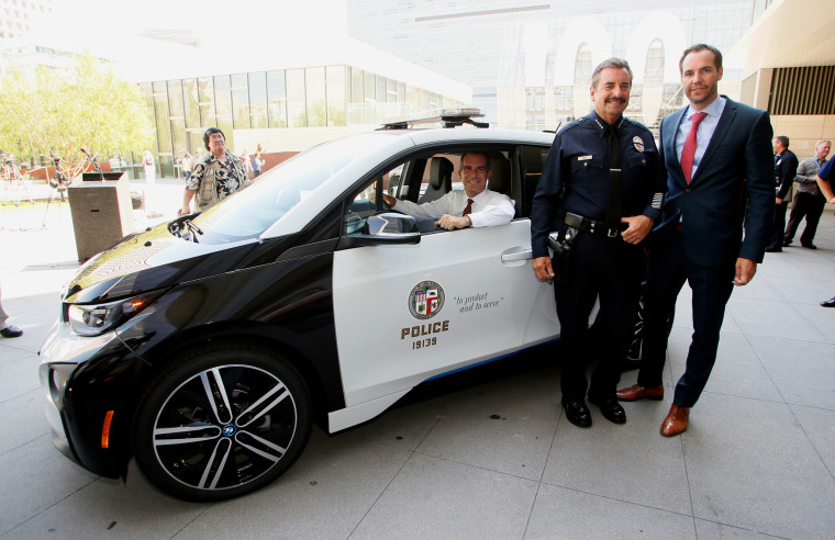 Image: LAPD gets a BMW i3 electric car