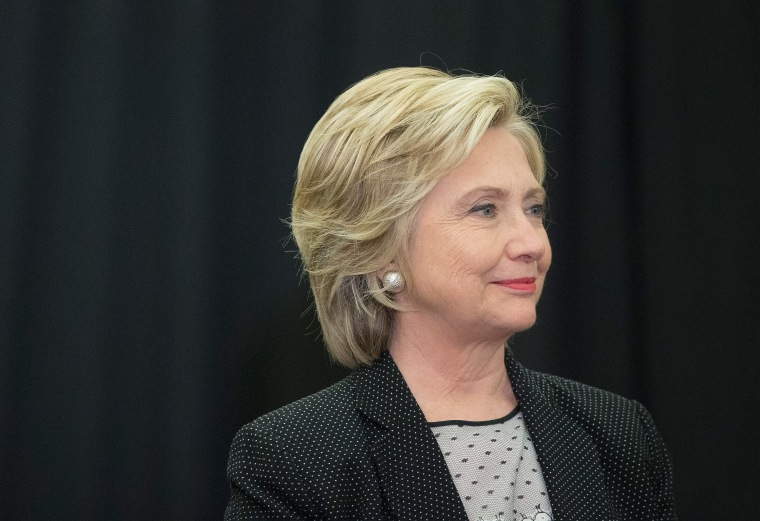 Image: Hillary Clinton Campaigns In Milwaukee