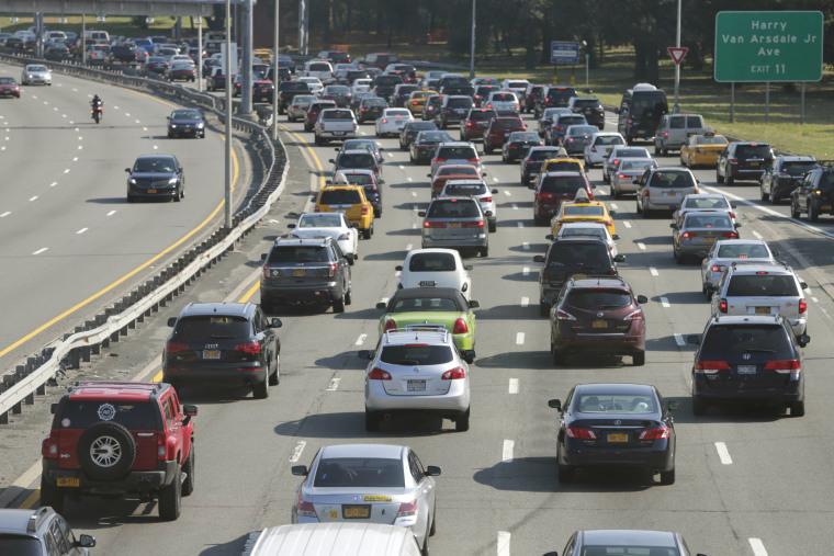 Image: New York City traffic