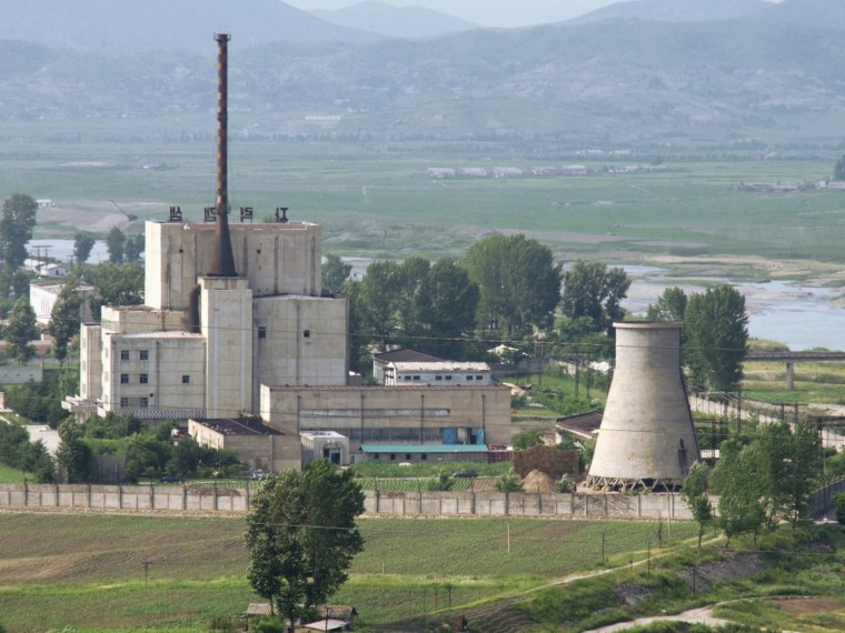 Image: North Korea's Yongbyon nuclear complex