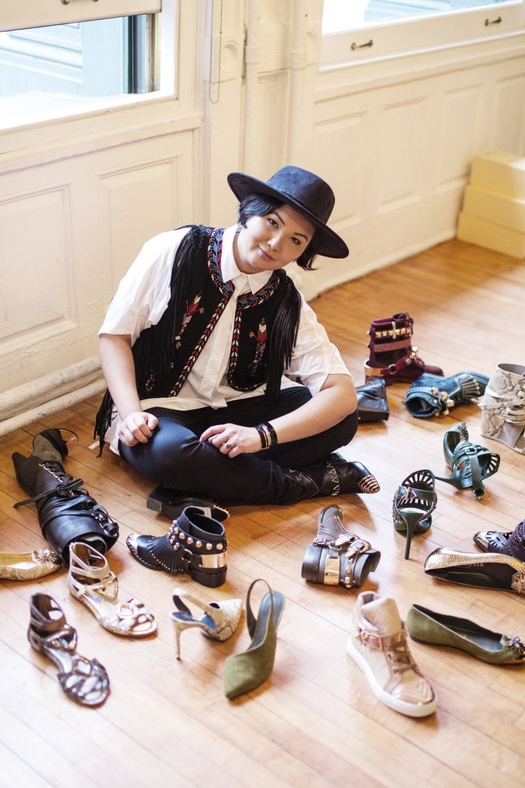 Raised in a creative family, shoe designer Ivy Kirzhner says she was always encouraged to follow her passions.