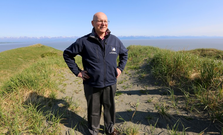 Retired Adm. Robert Papp, the U.S. special representative to the Arctic Council, on a visit to Alaska.