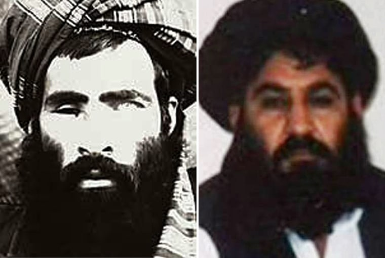 Image: new leader of the Afghan Taliban, Mullah Akhtar Mansour