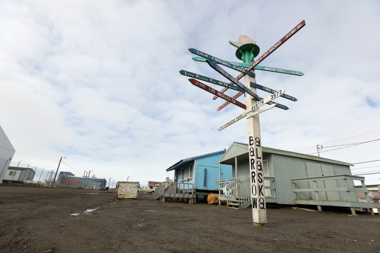 Barrow, Alaska, is the northernmost city in the U.S.