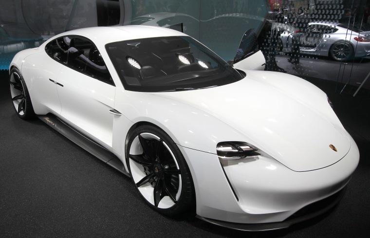 Image: Porsche Mission E concept