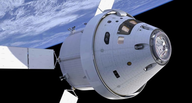 Image: Orion spacecraft