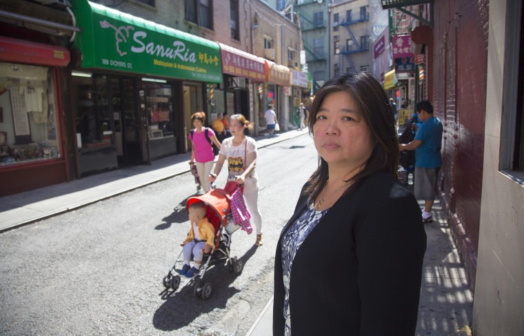 Image: Agnes Chan, Retired from the NYPD