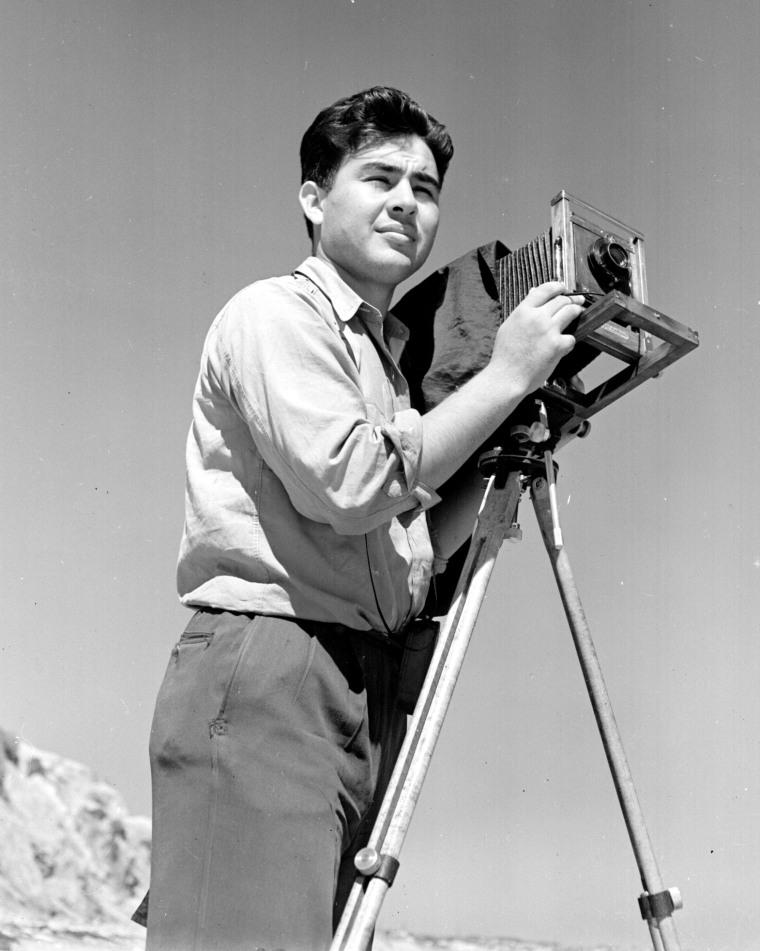 Image: Pedro E. Guerrero in L.A. in 1935