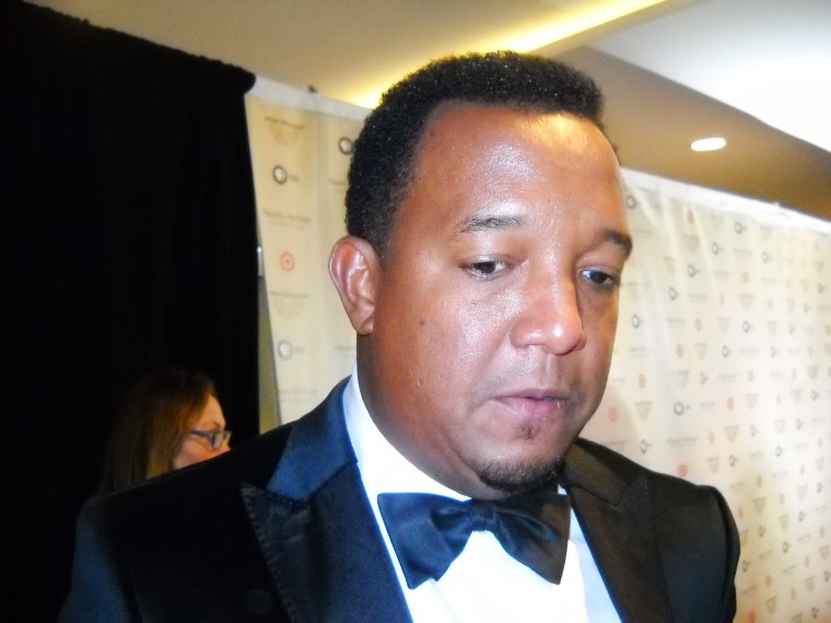 Major League Baseball Hall of Famer Pedro Martinez attends the 28th Annual Hispanic Heritage Awards in Washington, D.C., on Sept. 17.