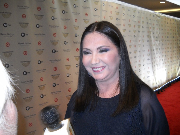 Singer Ana Gabriel attends the 28th Annual Hispanic Heritage Awards