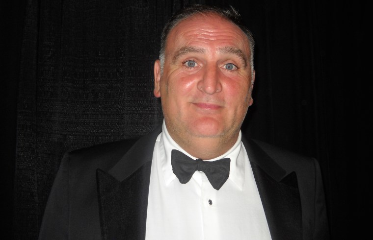 File photo of Chef Jose Andres attending the 28th Annual Hispanic Heritage Awards in Washington, D.C., on Sept. 17.
